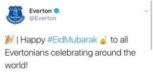 Tim Sepak Bola Asal Inggris Ucapkan: 'Selamat Hari Raya Idul Fitri' 5