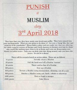 Beredar Surat Bertajuk 'Hari Menghukum Muslim' di Inggris 1